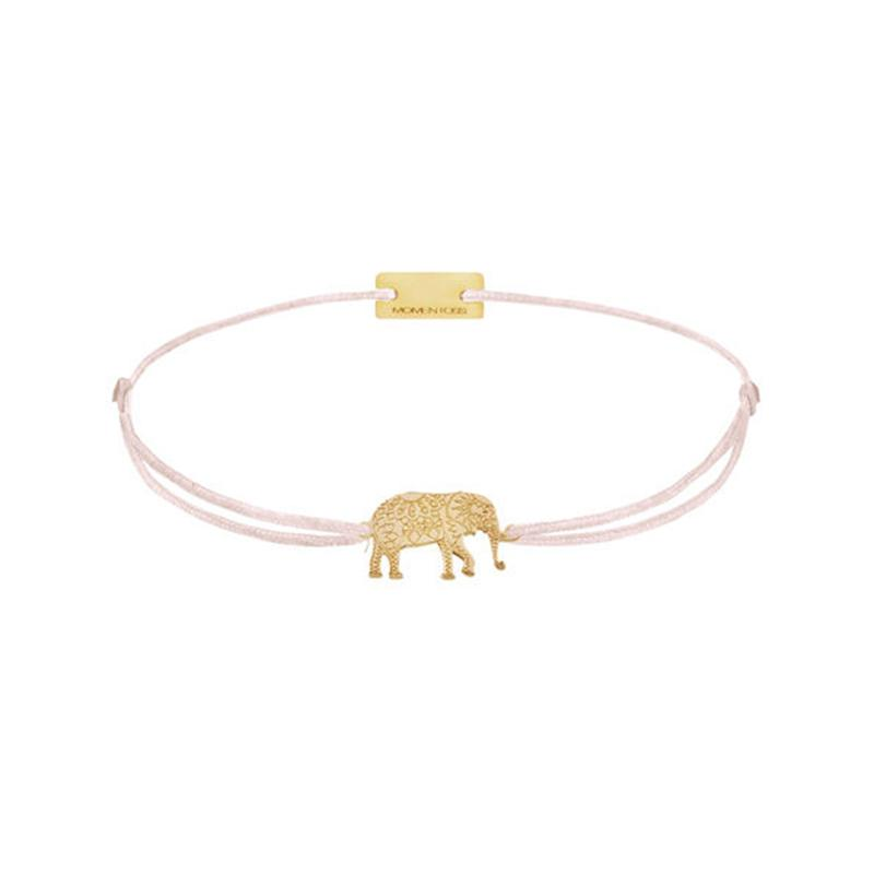 Elefant Gelbvergoldet