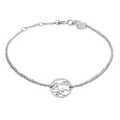Armband Nachthimmel Silber Rhodiniert