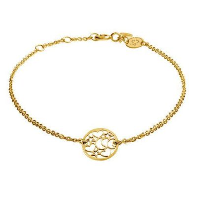 Armband Nachthimmel Silber Gelbvergoldet