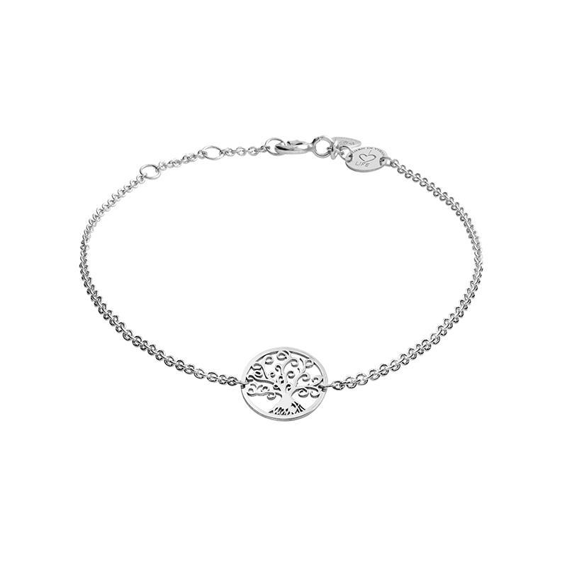 Armband Lebensbaum Silber Rhodiniert