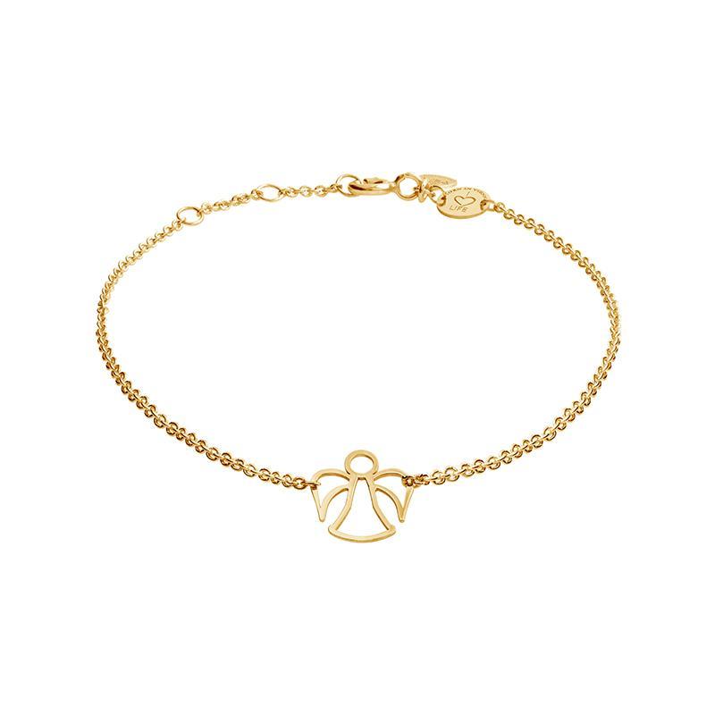 Armband Engel Gelbvergoldet