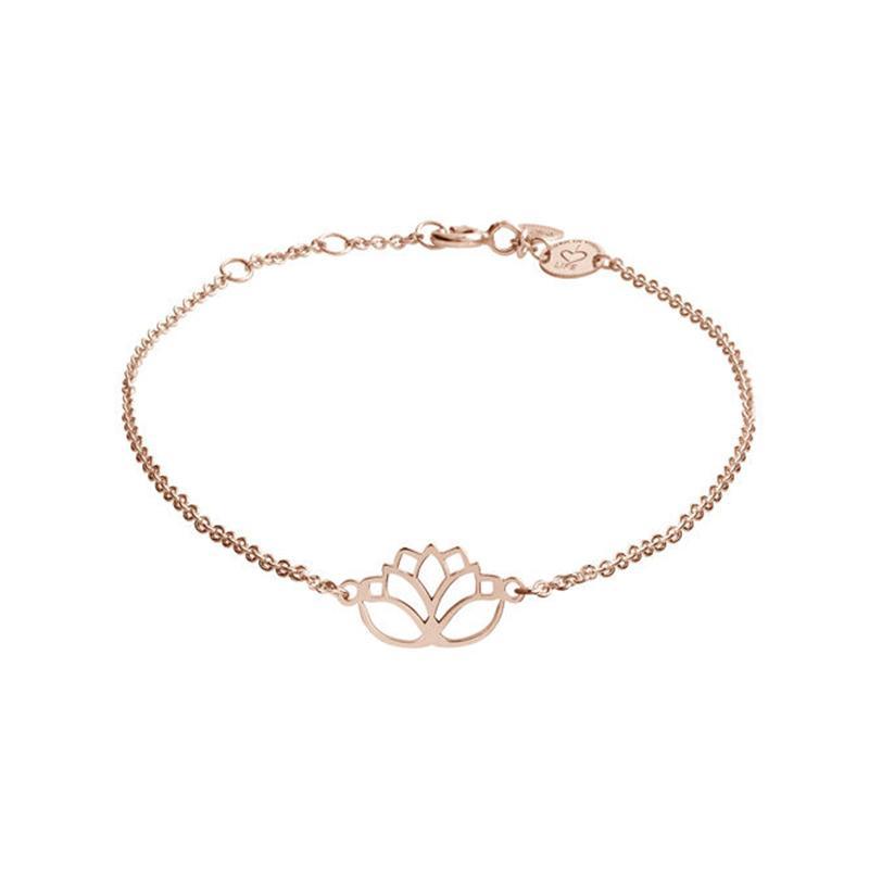 Armband Lotus Rosévergoldet