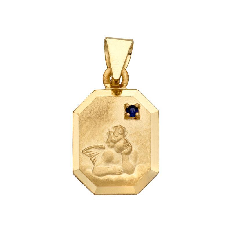 Schutzengel Gelbgold