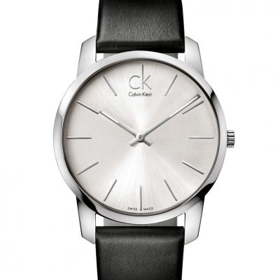 Armbanduhr Calvin Klein - City schwarz