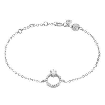 Armband Princess Zirkonia Silber Rhodiniert