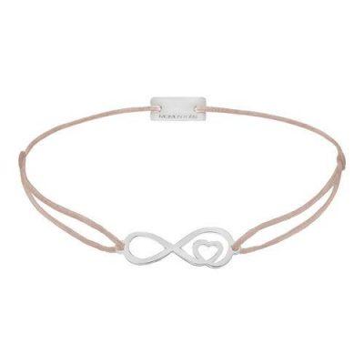 Infinity mit Herz Silber