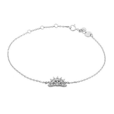 Armband Magic Zirkonia Silber Rhodiniert