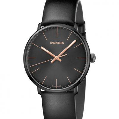 Armbanduhr Calvin Klein - High Noon schwarz