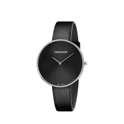 Armbanduhr Calvin Klein - Full Moon schwarz