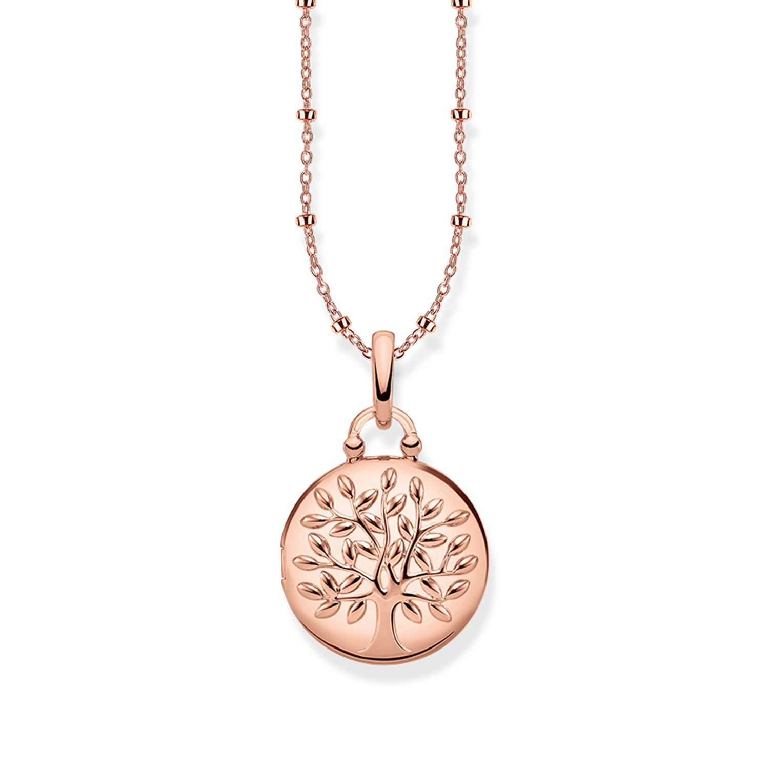 "Thomas Sabo ""Medaillon Tree of Love Rosé"" Kette"
