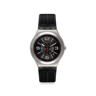 Swatch Armbanduhr - Irony Black Grid