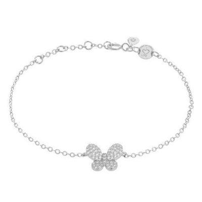 "LaViida - ""Schmetterling"" Armband Silber"
