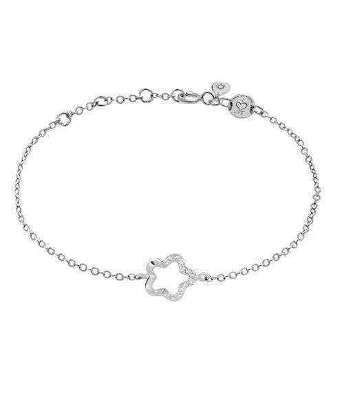 "LaViida - ""Floral"" Armband Silber"