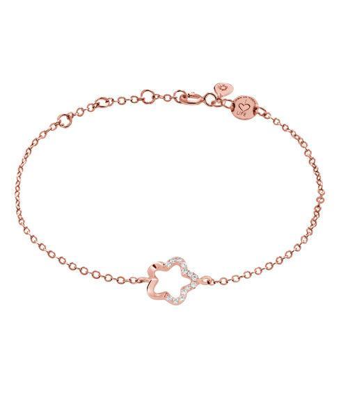 """LaViida - """"Floral"""" Armband Silber Rosevergoldet"""