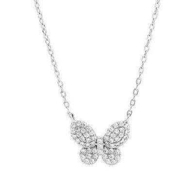 """LaViida - """"Schmetterling"""" Halskette Silber"""