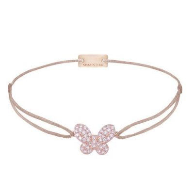 Filo - Schmetterling Armband rosé