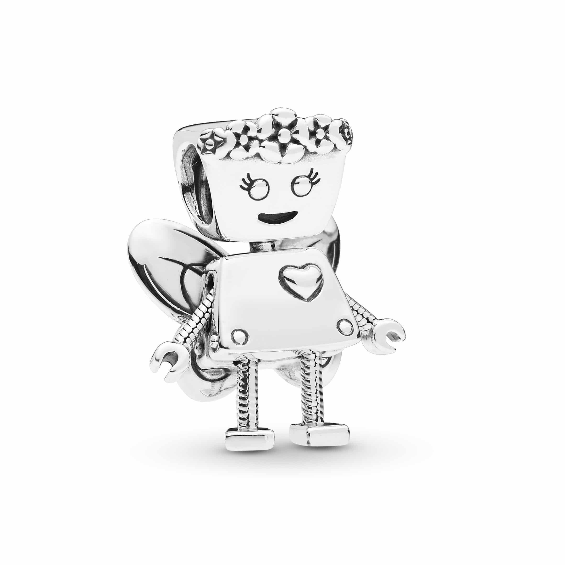 "Pandora - ""Floral Bella Bot"" Charm Anhänger"